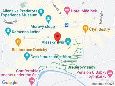 Kostel sv. Jakuba Kutná Hora map
