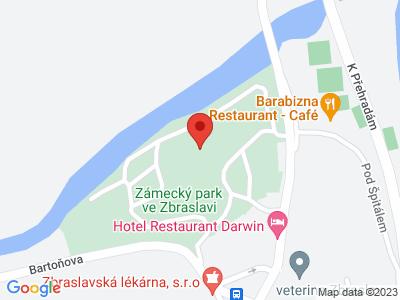 Zbraslav (zámek) map