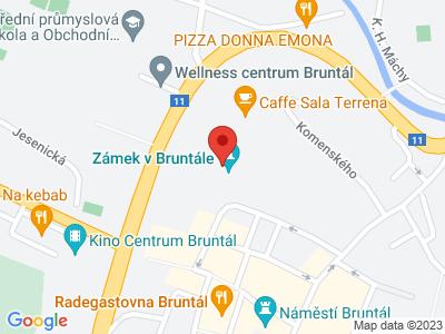 Bruntál (zámek) map