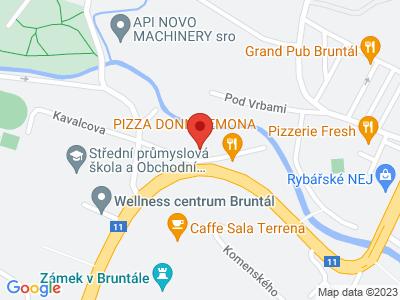 Bruntál - water reservoir Slezská Harta - Razová - Bílčice - Moravský Beroun + Back train map