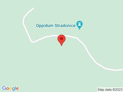 Naučná stezka oppidum Stradonice map