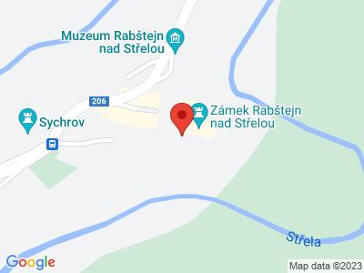 Rabštejn nad Střelou (zámek) map