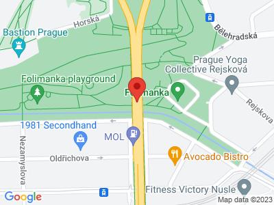 Nuselský most Praha map