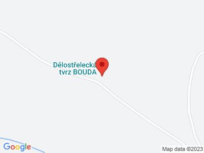 Bouda Artillerie Festung map