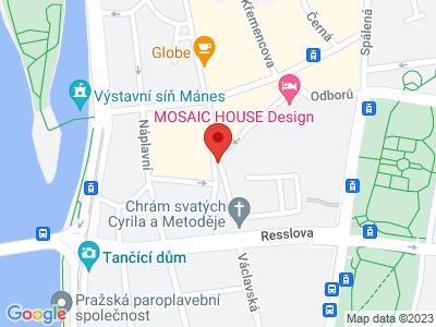 Praha - Nové Město map