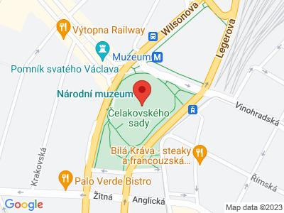 Národní muzeum Praha map