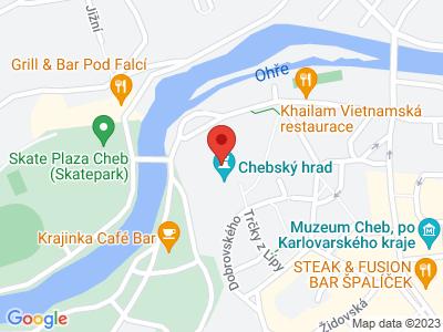 Cheb (hrad) map