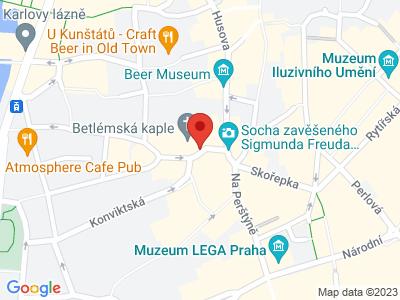 Praha - Staré Město map