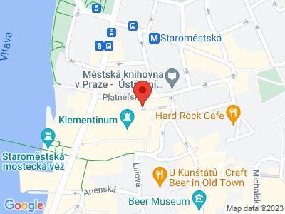 Klementinum Praha map