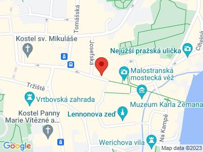 Muzeum pražských pověstí a strašidel map