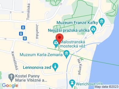 Praha - Malá Strana map