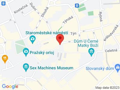 Týnský chrám - Kostel Matky boží před Týnem Praha map