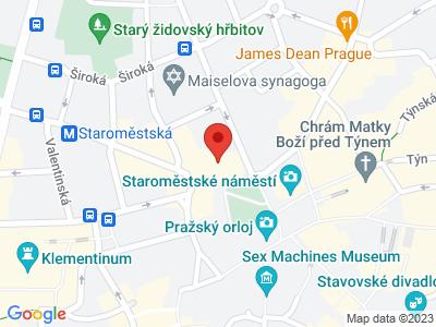 Kostel sv. Mikuláše Praha Staré Město map