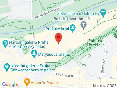 Katedrála sv. Víta, Václava a Vojtěcha Praha map