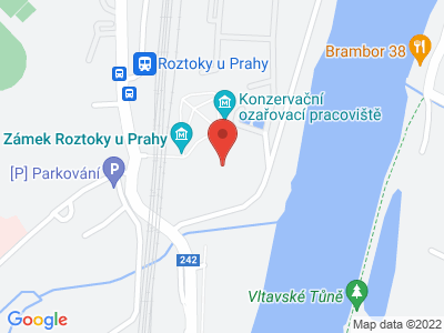 Roztoky u Prahy (zámek) map