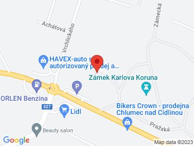 Karlova Koruna (zámek) map