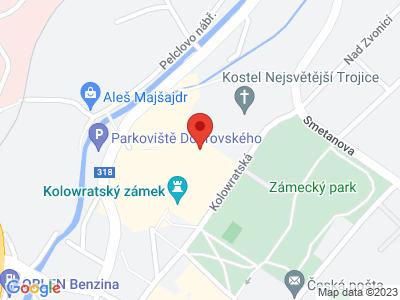 Rychnov nad Kněžnou (zámek) map
