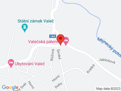 Valeč map