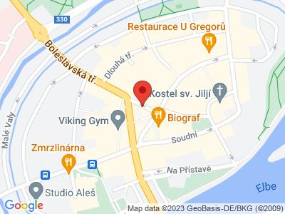 Nymburk map