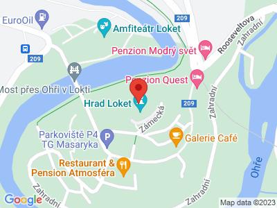 Loket (hrad) map