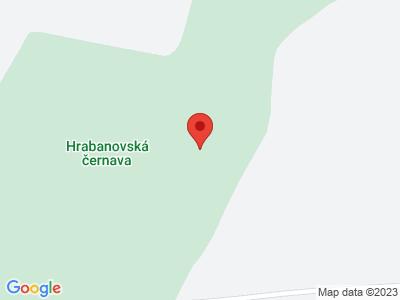 Hrabanovská černava map