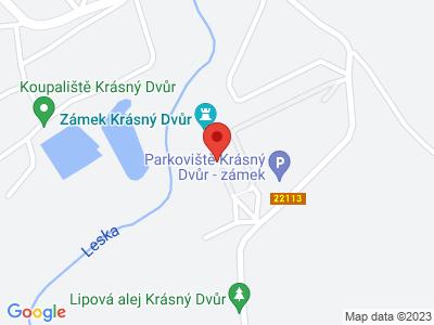 Krásný Dvůr (zámek) map