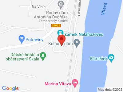 Nelahozeves (zámek) map