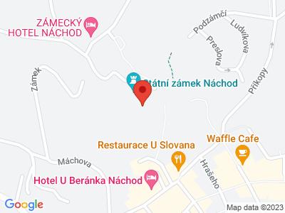 Náchod (zámek) map