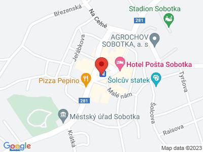 Sobotka - brána do Českého Ráje map