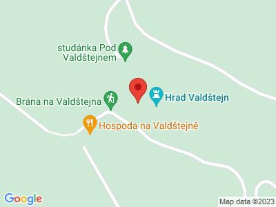 Valdštejn (hrad) map