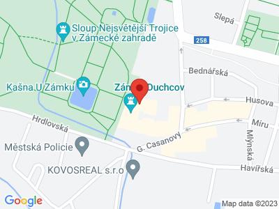 Duchcov (zámek) map