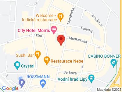 Česká Lípa map