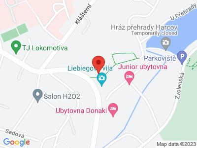 Liebigův zámeček (zámek) map