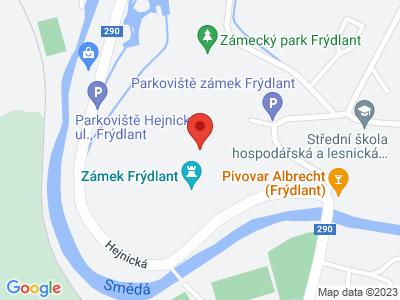 Frýdlant (zámek) map