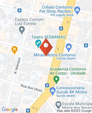 Mapa da empresa Orteng