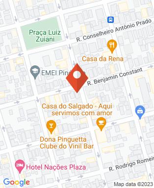 Mapa da empresa House Criativa