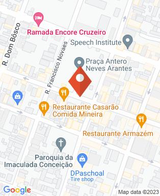 Mapa da empresa Câmara Municipal de Cruzeiro