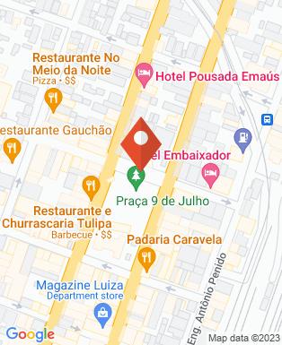 Mapa da empresa Prefeitura Municipal de Cruzeiro