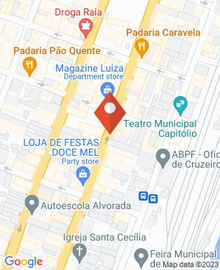 Mapa da empresa Bahall Cruzeiro