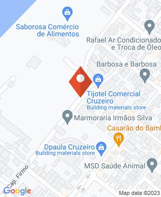 Mapa da empresa APAE de Cruzeiro