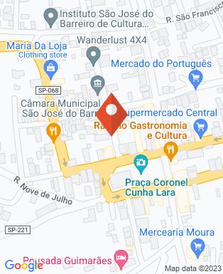 Mapa da empresa Câmara Municipal São João do Barreiro