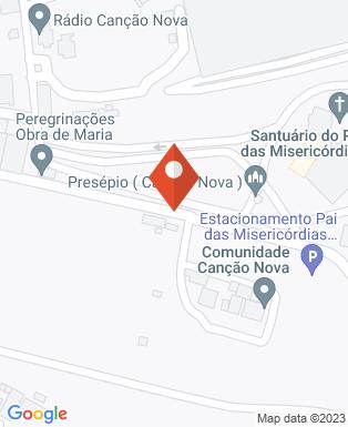 Mapa da empresa Canção Nova