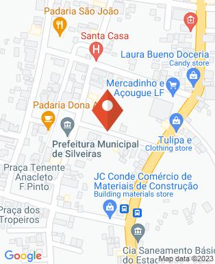 Mapa da empresa Prefeitura Municipal de Silveiras