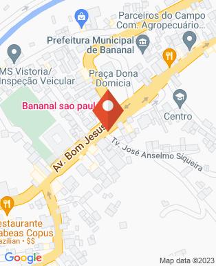 Mapa da empresa Prefeitura Municipal da Estancia Turistíca de Bananal