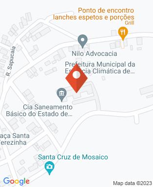 Mapa da empresa Prefeitura Municipal da Estância Climatica de São Bento do Sapucai