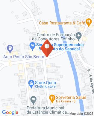 Mapa da empresa Golden Motos São Bento do Sapucaí