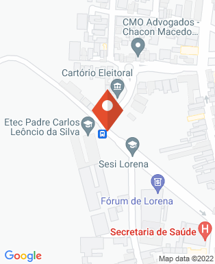 Mapa da empresa Serviço Social da Indústria - Lorena
