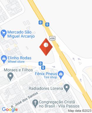 Mapa da empresa 5º Bil Batalhão de Infantaria Leve - Regimento Itororó
