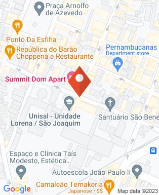 Mapa da empresa CIEE - Centro de Integração Empresa Escola de Lorena
