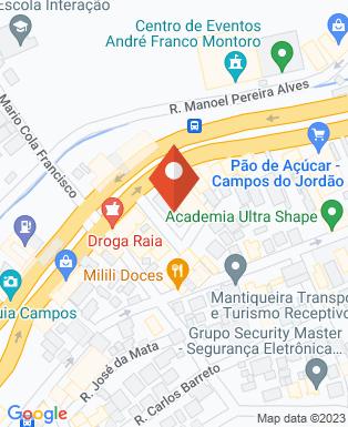 Mapa da empresa Espaço Cultural Dr. Além